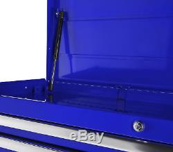 Craftsman 42 in. 10-Drawer Ball Bearing Slides Top Chest, Blue