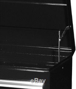 Craftsman 42 in. 4-Drawer STD DUTY Ball Bearing Slides Top Chest, Black
