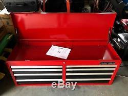 Craftsman 51, 8 Drawer Top Chest Tool Box, Ball Bearing Slides Model 706208810