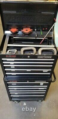 Craftsman Ball-bearing Griplatch 11 drawer Toolchest FULL OF TOOLS