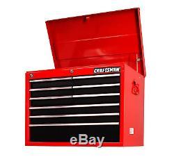 Craftsman Craftsman 27 9-Drawer STD DUTY Ball Bearing Slides Top Chest RedBlac