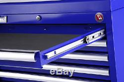 Craftsman Craftsman 27 in. 6-Drawer STD DUTY Ball Bearing Slides Top Chest Blue