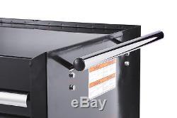 Craftsman Craftsman 27 in. 9-Drawer Ball Bearing Slides Roller Cabinet, Black