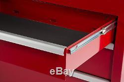 Craftsman Craftsman 27 in. 9-Drawer Ball Bearing Slides Roller Cabinet, Red