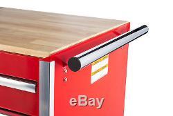 Craftsman Craftsman 42 11-Drawer DIY Ball Bearing Slides Cabinet with Hard Wood