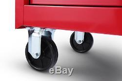 Craftsman Craftsman 42 in. 5-Drawer Ball Bearing Slides Roller Cabinet with Hard