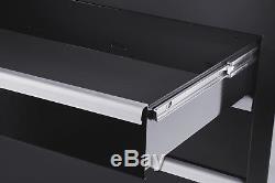 Craftsman Craftsman 54 in. 10-Drawer Ball Bearing Slides Roller Cabinet, Black-