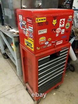 Craftsman TOOL CHEST. TOP BOX AND ROLL CABINET