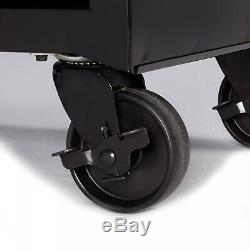 Flexible Solution Hyper Tough 4-Drawer Rolling Tool Cabinet W Ball-Bearing Slide