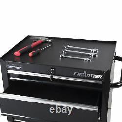 Frontier 26-inch 4 Drawer Bottom Tool Chest, Garage Storage Cabinet, Black