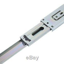 Full Extension Ball Bearing Drawer Slides 24 Mute Rails Drawer Track