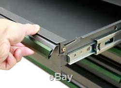 Gunmetal Gauge Steel 16 x 24 6 Drawer with Liner Ball Bearing Slide Side Cabinet