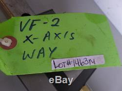 HAAS VF-2 THK HSR35 X-AXIS LINEAR RAIL AND BALL BEARING BLOCK SLIDE 1463M James