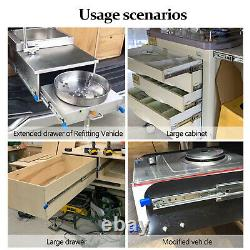 Heavy Duty 18-40Drawer Slides with Lock Full Extension 300Ib Ball Bearing 1Pair