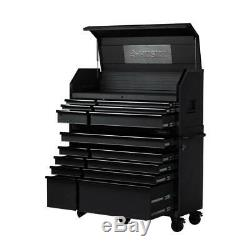 Heavy-Duty 52 in. W 15-Drawer, Deep Combination Tool Chest and Rolling Cabinet S