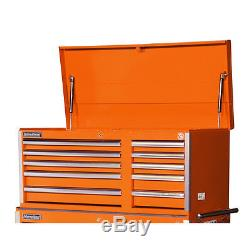Heavy Duty Ball Bearing Drawer Slide Work Tool Chest Cabinet Box Toolbox Storage