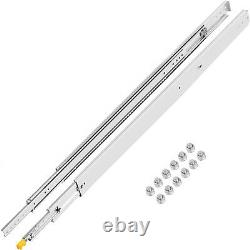 Heavy Duty Drawer Slides 500lbs Ball Bearing Drawer Slides 48inch Long with Lock