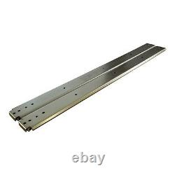 Heavy Duty Steel Ball Bearing Drawer Slides 500 lb. Capacity 50 Length