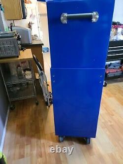 Homac tool chest & top cabinet (blue) models# & BL02008410 & BL04011410