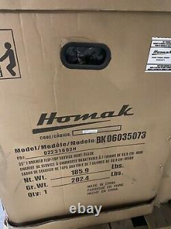 Homak 35 7 Drawer Black service cart BK06035073 Closeout Discount