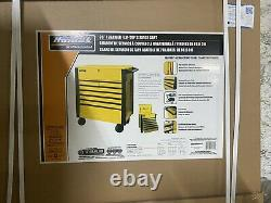 Homak 35 7 Drawer Yellow service cart YW06035073 Closeout Discount