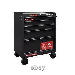 Husky 27 in. 5-Drawer Roller Cabinet Tool Chest in Textured Black