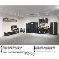 Husky 33 In. H X 28 In. W X 18 In. D 1-drawer 2-door Steel Garage Base Cabinet
