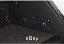 Husky 52 6-Drawer Tool Chest Reinforced Top Lid Ball Bearing Slides Keyed Lock