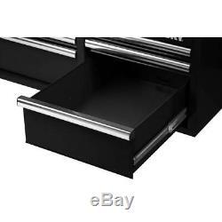 Husky 6 Drawer Tool Chest Ball Bearing Slides Garage Storage Black 36 X 24.2 In