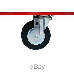 Husky 62 in. 5-Drawer 1-Door Mobile Workbench in Red