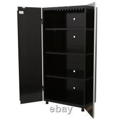 Husky 72 in. H x 36 in. W x 18 in. D Steel Tall Garage Cabinet