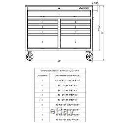 Husky H46MWC9XD 9 Drawer Workbench