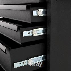 Husky Tool Box Modular Storage 27 in. 5-Drawer Cabinet Roller Chest Organizer
