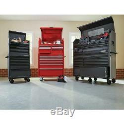 Husky Top Tool Chest Storage Textured Black 5 Drawer 26 in Ball Bearing Slides
