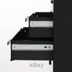 Hyper Tough 20 Rolling Tool Chest 3 Drawer Storage Cabinet Ball-Bearing Slide
