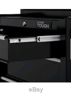 Hyper Tough 4-Drawer Rolling Tool Cabinet with Ball-Bearing Slides, 26
