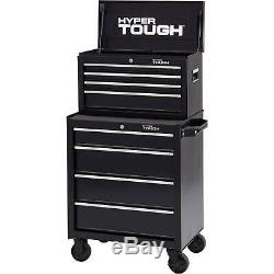 Hyper Tough 4-Drawer Rolling Tool Cabinet with Ball-Bearing Slides, 26W NEW