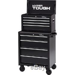 Hyper Tough 4-Drawer Tool Chest with Ball-Bearing Slides, 26 W