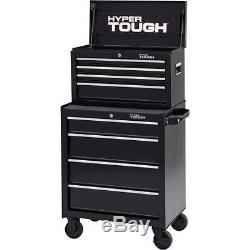 Hyper Tough 4-Drawer Tool Chest with Ball-Bearing Slides, W