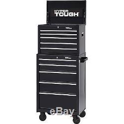 Hyper Tough 5 Drawer Tool Box with Ball Bearing Slides, 26W