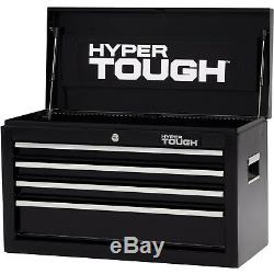 Hyper Tough TOP 4 Drawer Tool Chest with Ball Bearing Slides Mechanic Toolbox
