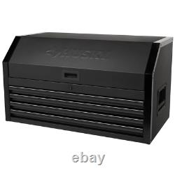 Industrial 41 in. W x 21.5 in. D 4-Drawer Top Tool Chest in Matte Black