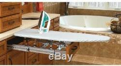 Ironing Board 4 in. H x 21 in. W x 19.86 in. D Fold Out Ball-Bearing Slide System