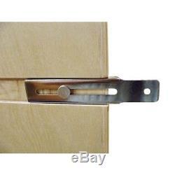 Kitchen Pull-Out Wood Base Cabinet Shelf Organizer Ball-Bearing Soft-Close Slide