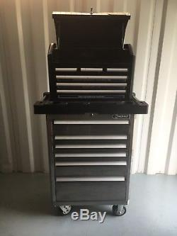 Kobalt Tool Cabinet, Stanless Steel with ball bearing drawer slides