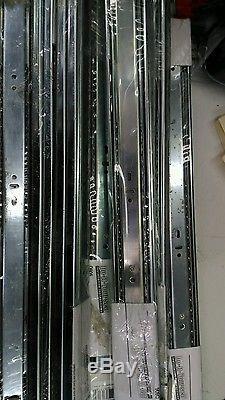 Liberty D80622C-ZP-W 22-Inch Ball Bearing Drawer Slides