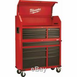 Milwaukee 46 In. 16-Drawer Steel Tool Chest -Red