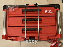 Milwaukee Packout 3 drawer tool box 48-22-8443