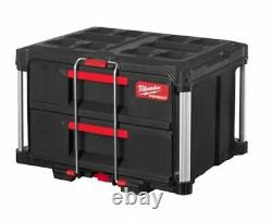 Milwaukee Packout Suitcase With 2 Drawer Tool Box