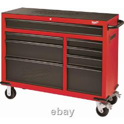 Milwaukee Roller Cabinet Tool Chest 46 in. 8-Drawer Ball Bearing Slides Steel